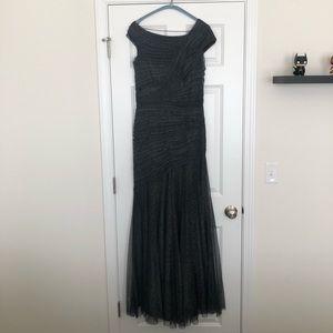 Black/Silver Gala/Wedding Dress